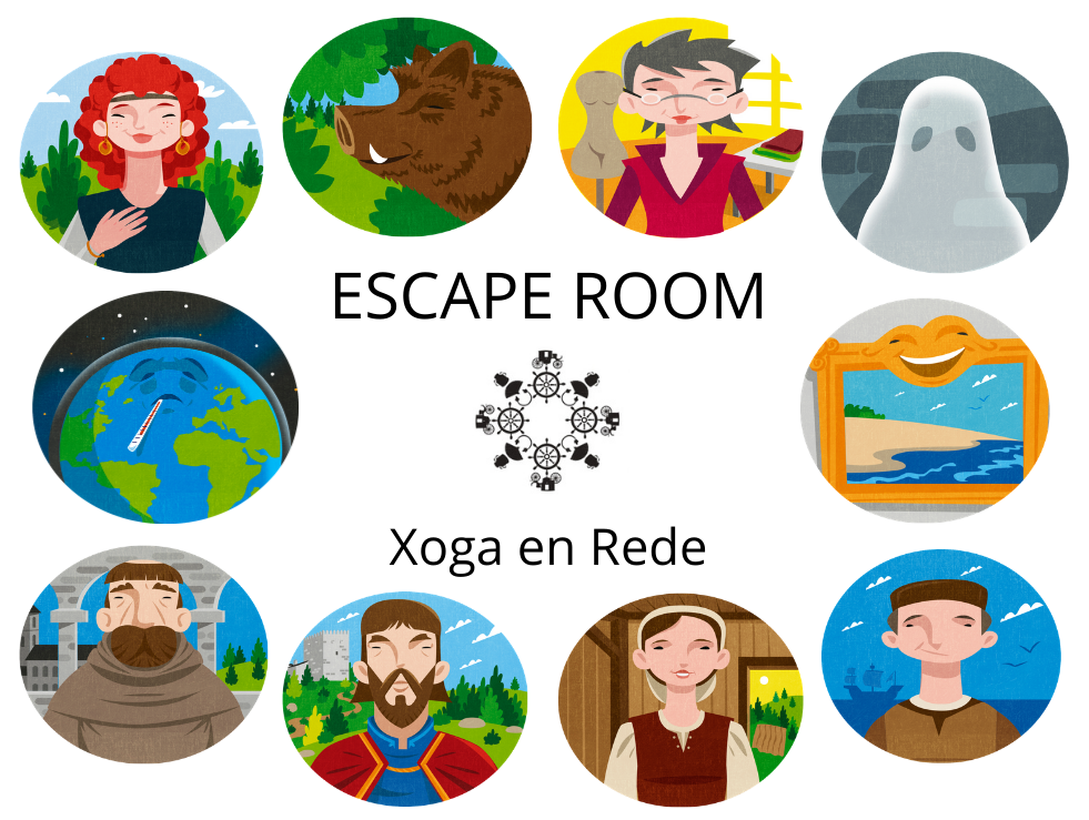 Escape Room: Xoga en Rede